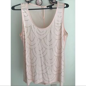 Coral Studded Forever 21 Tank Top